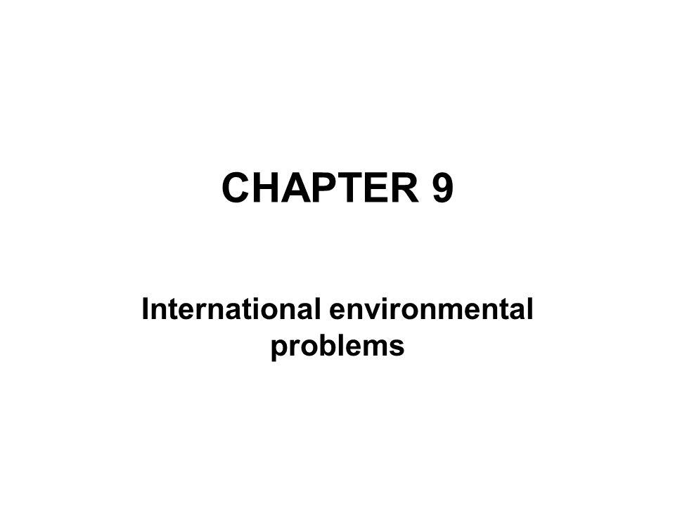 International environmental problems