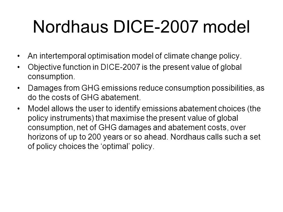 Nordhaus Dk international environmental problems ppt