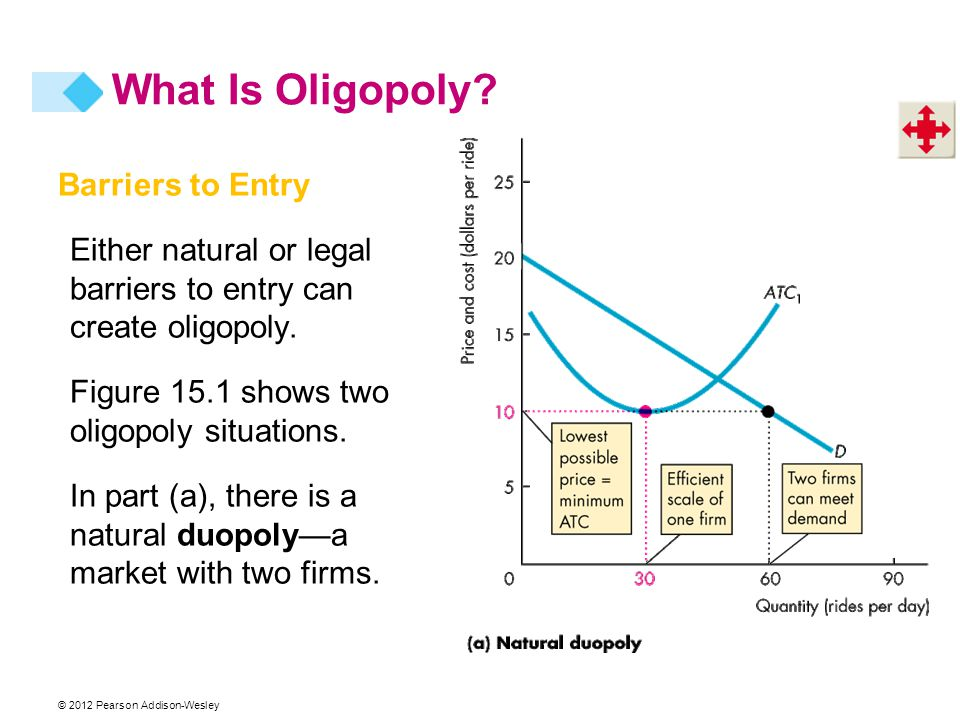 What Is Oligopoly Barriers to Entry