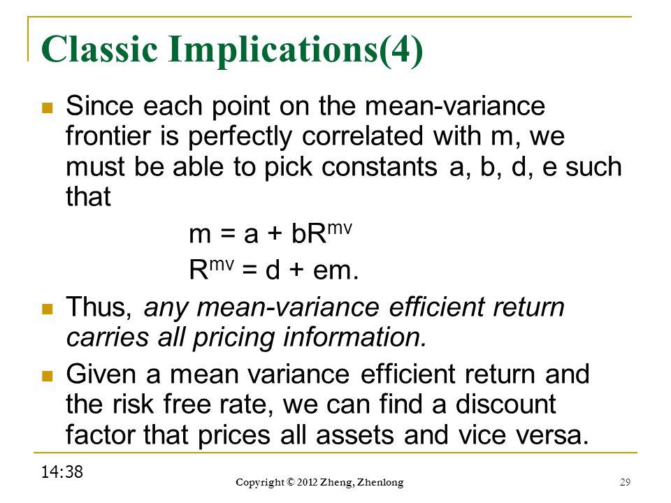 Classic Implications(4)