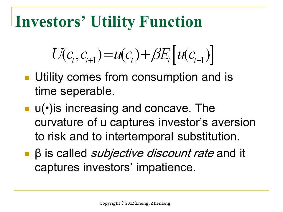 Investors' Utility Function