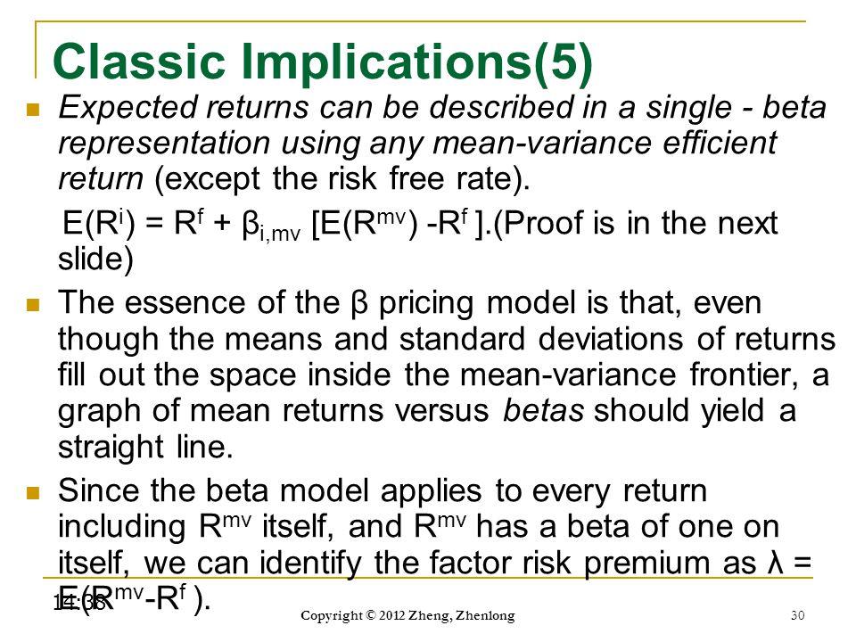 Classic Implications(5)