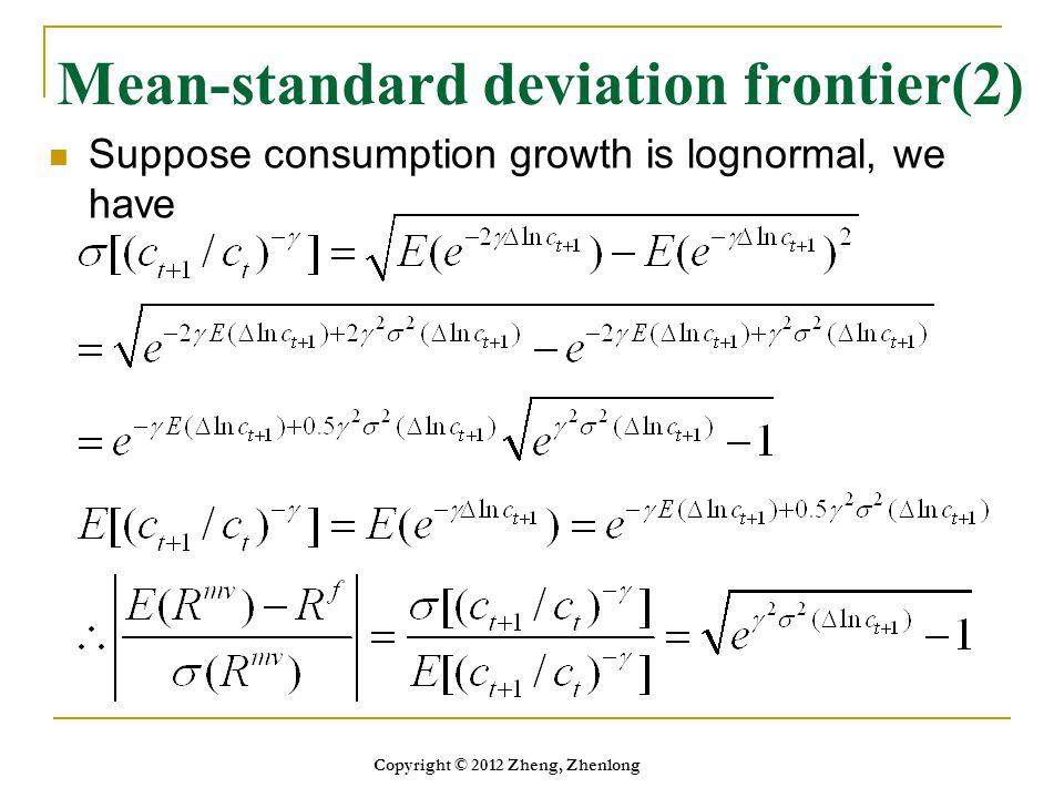 Mean-standard deviation frontier(2)