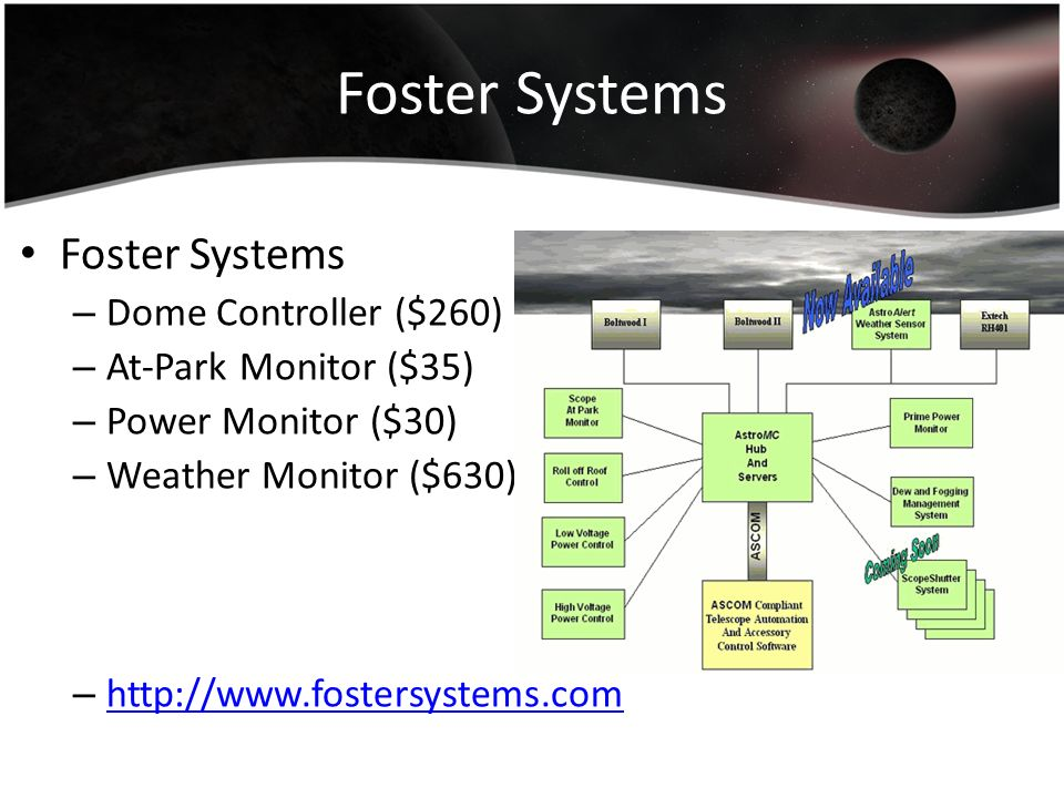 Foster Systems Foster Systems Dome Controller ($260)