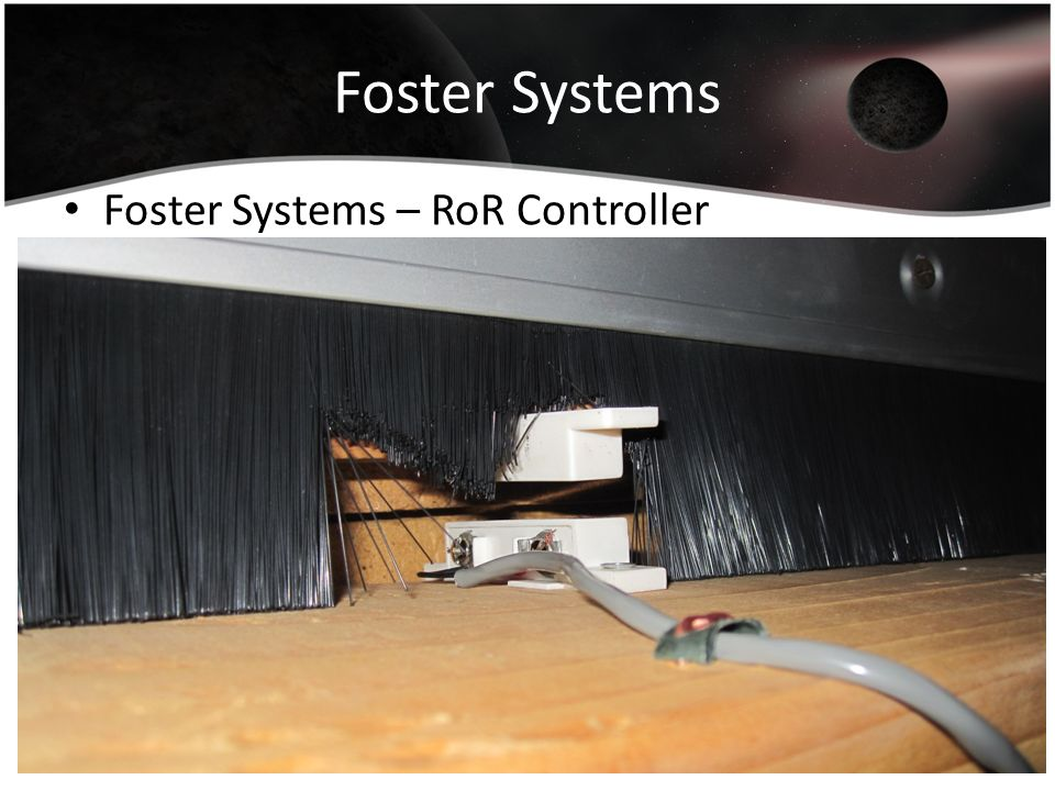 Foster Systems Foster Systems – RoR Controller
