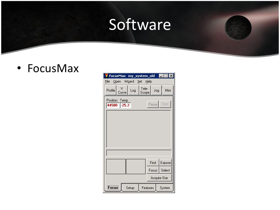 Software FocusMax