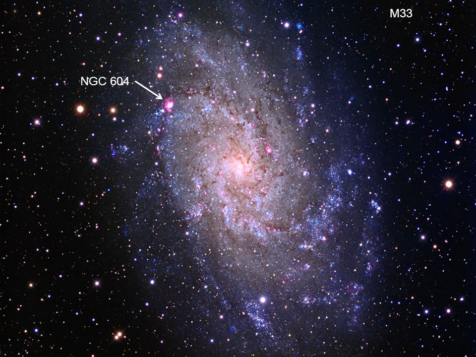 M33 Pictures NGC 604
