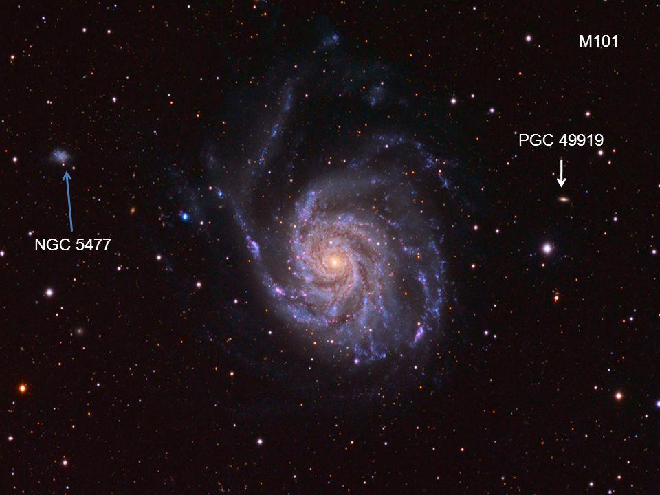 M101 PGC 49919 NGC 5477