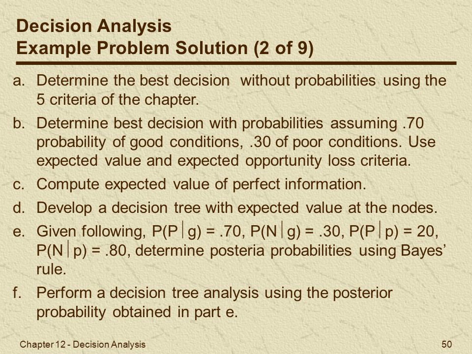 Example Problem Solution (2 of 9)