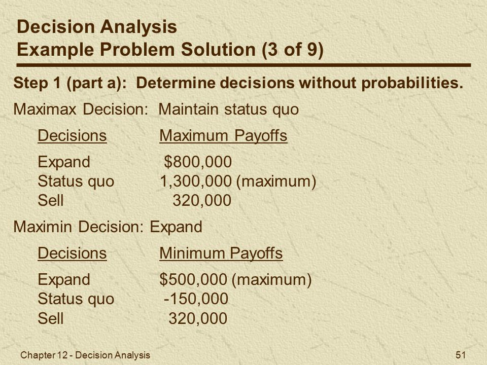 Example Problem Solution (3 of 9)