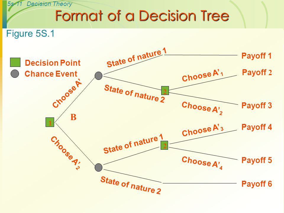 Format of a Decision Tree