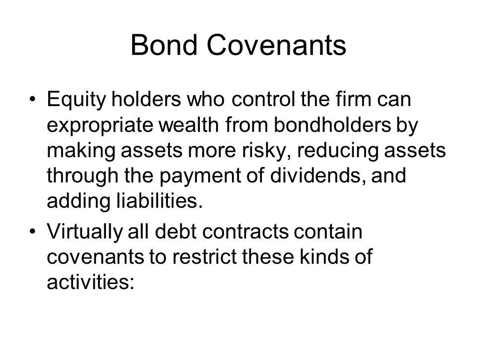 Bond Covenants