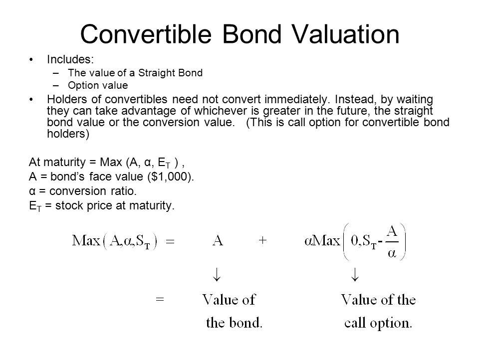 Convertible Bond Valuation