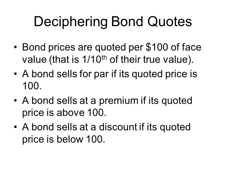 Deciphering Bond Quotes