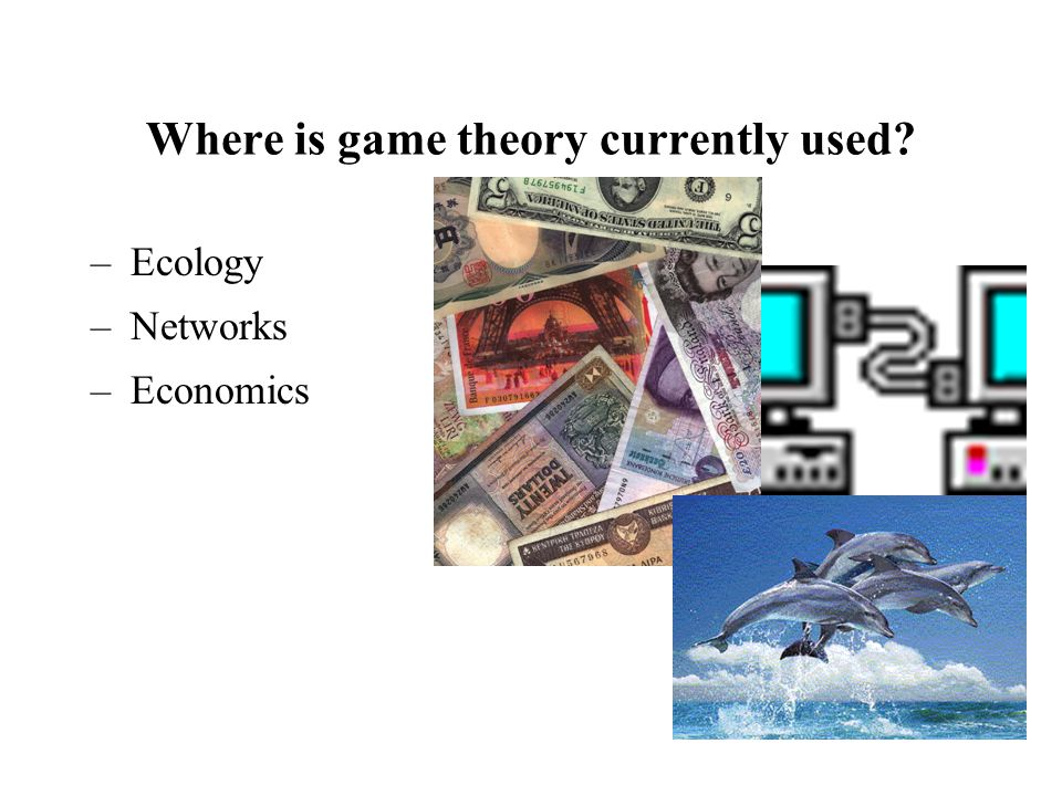 Where is game theory currently used