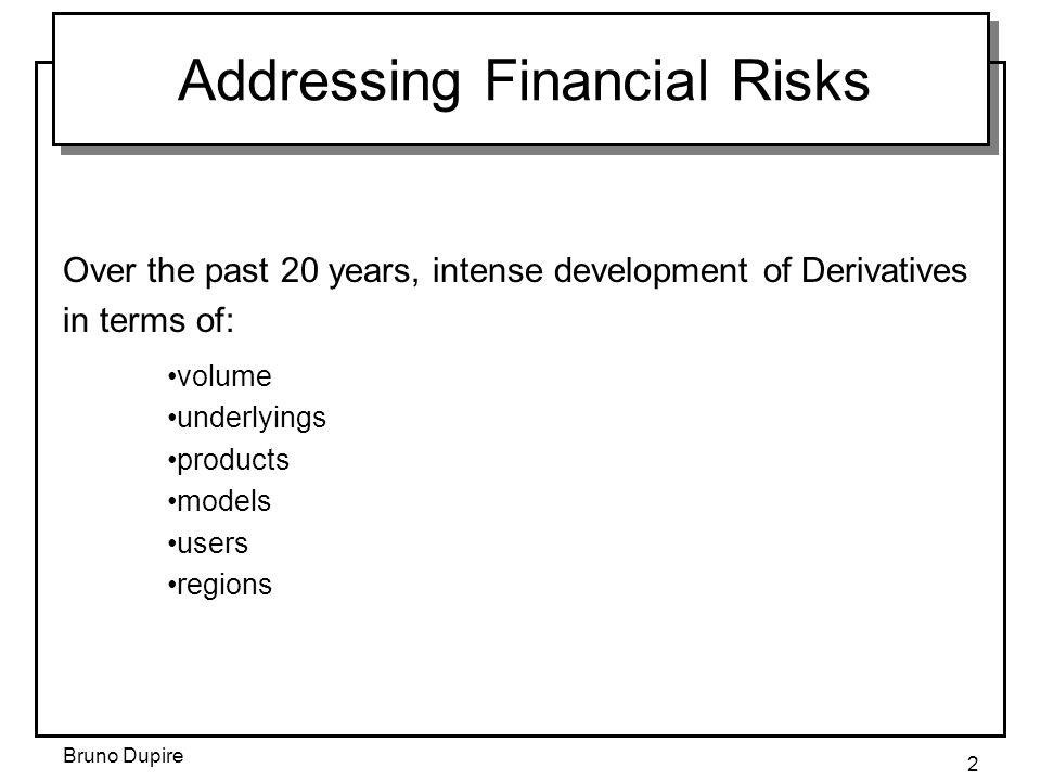 Addressing Financial Risks