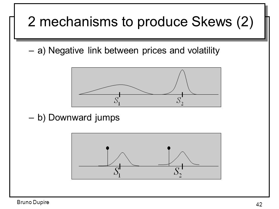2 mechanisms to produce Skews (2)