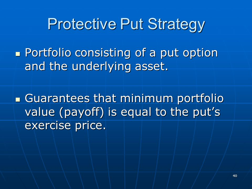 Protective Put Strategy