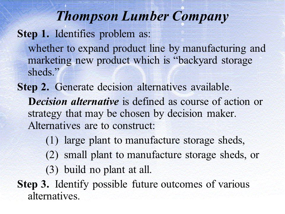 Thompson Lumber Company