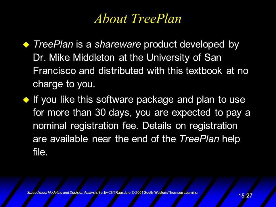 About TreePlan