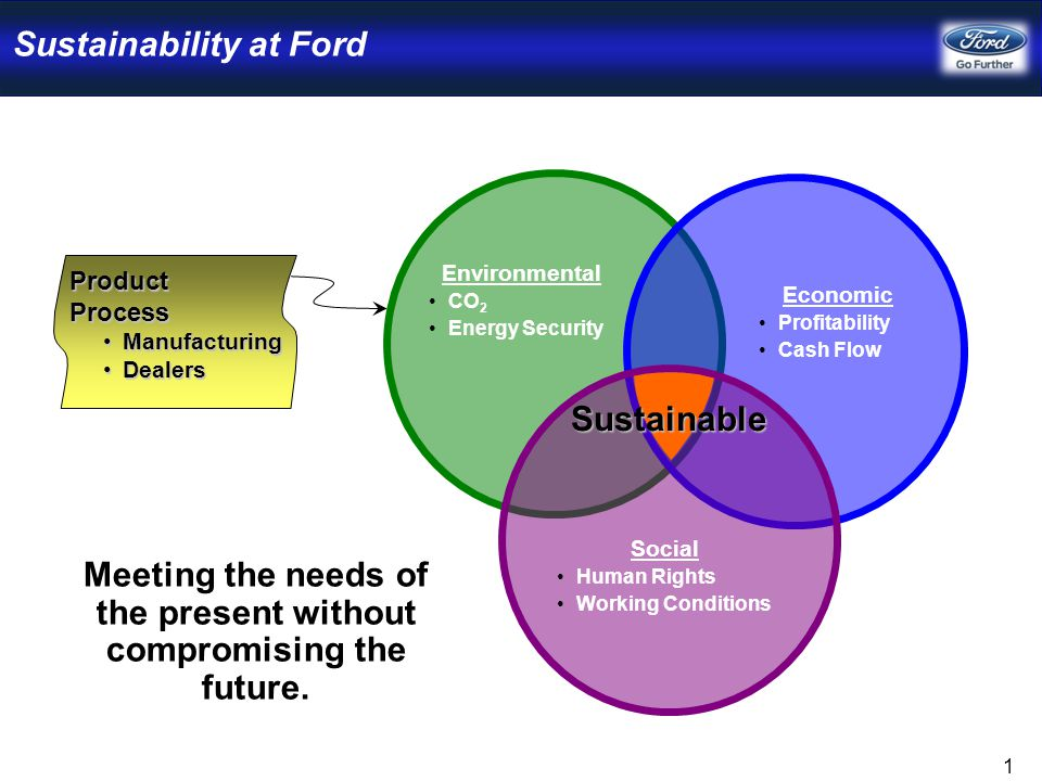 Process to Manage Sustainability for Our Products