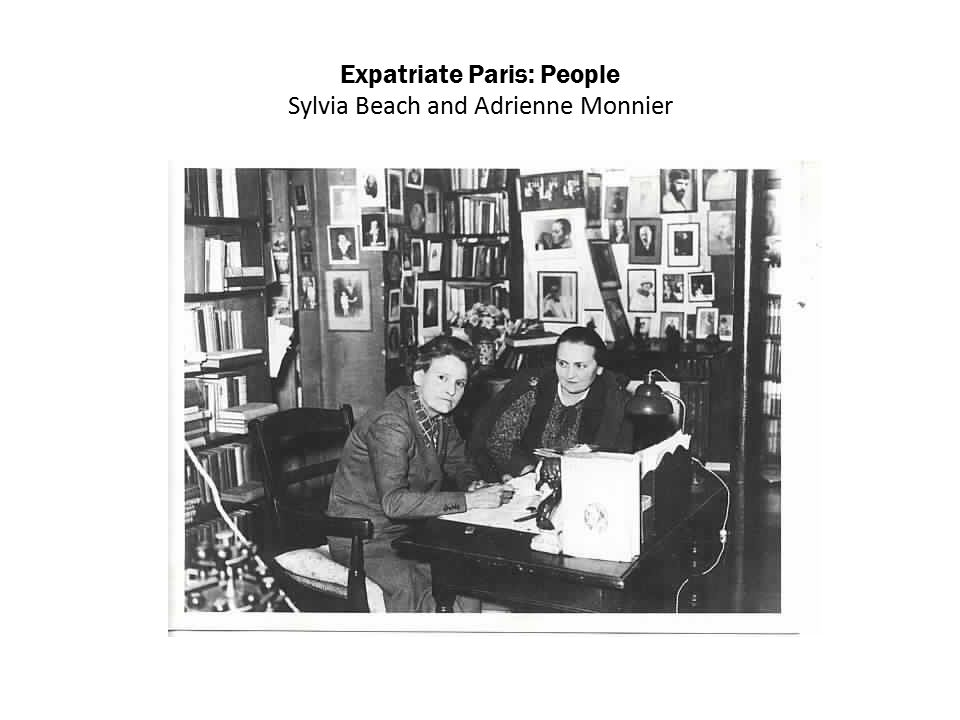 Expatriate Paris: People Sylvia Beach and Adrienne Monnier