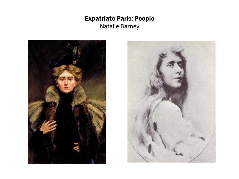 Expatriate Paris: People Natalie Barney
