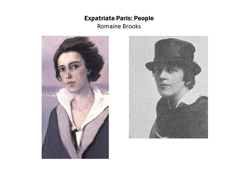 Expatriate Paris: People Romaine Brooks