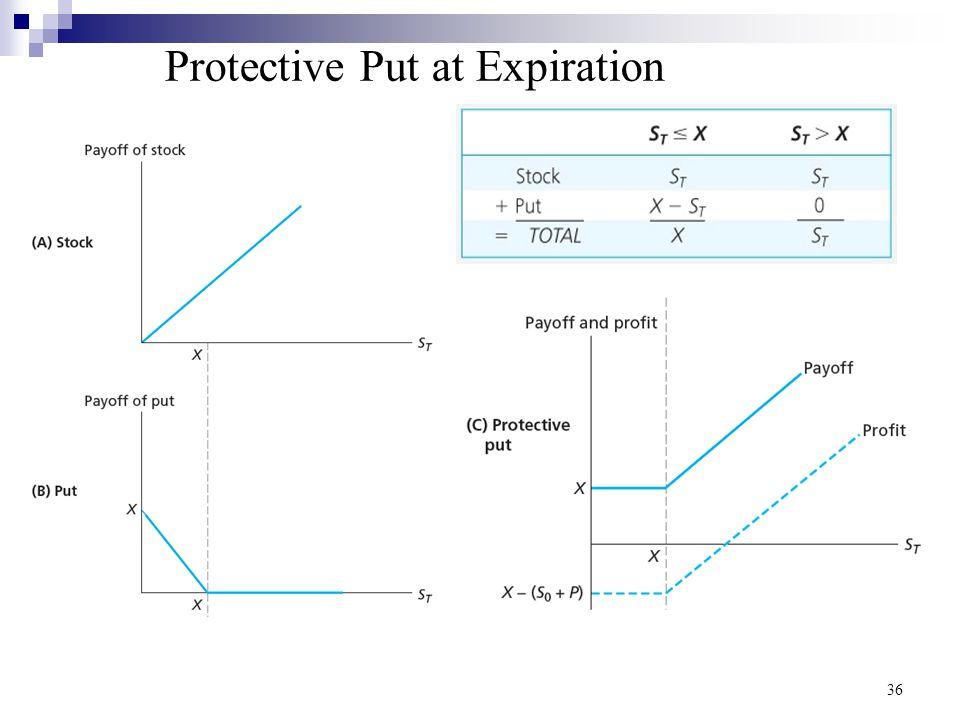 Protective Put at Expiration