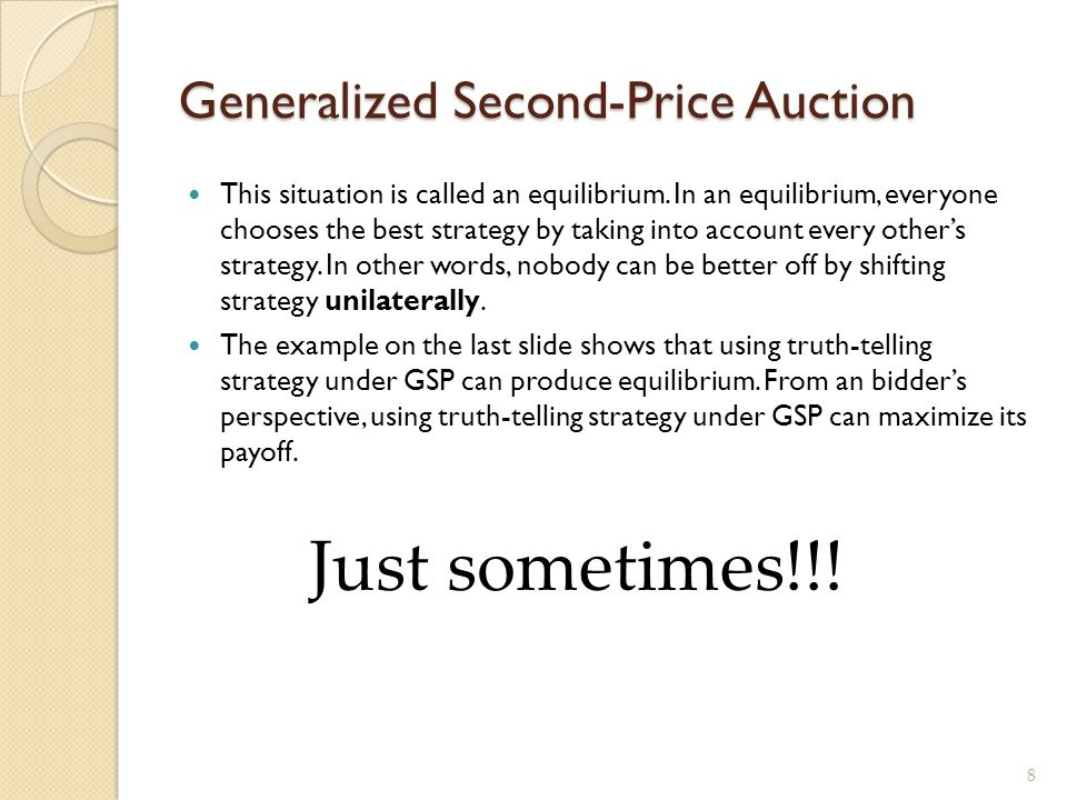Generalized Second-Price Auction
