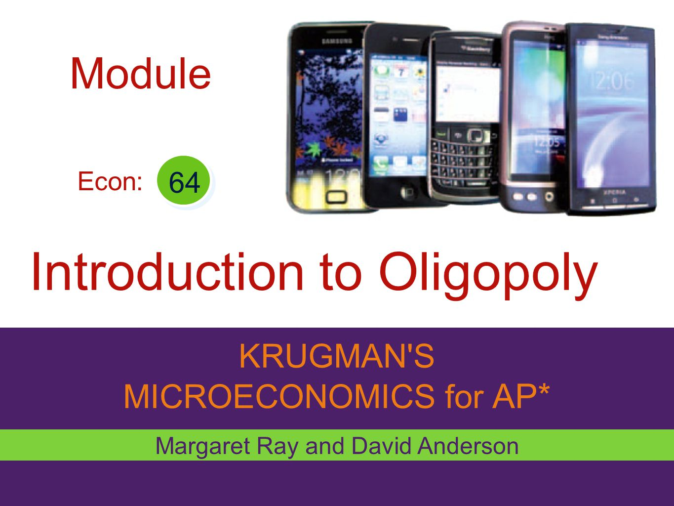 Introduction to Oligopoly