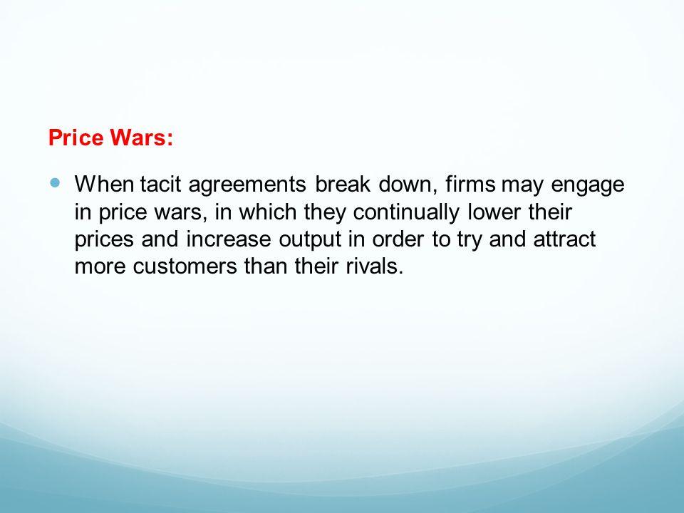 Price Wars: