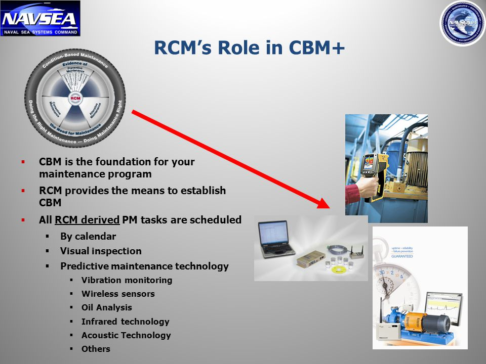 All RCM derived PM tasks are scheduled