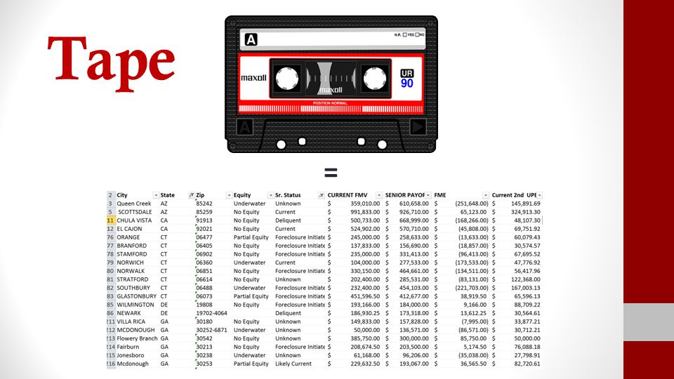 Tape =