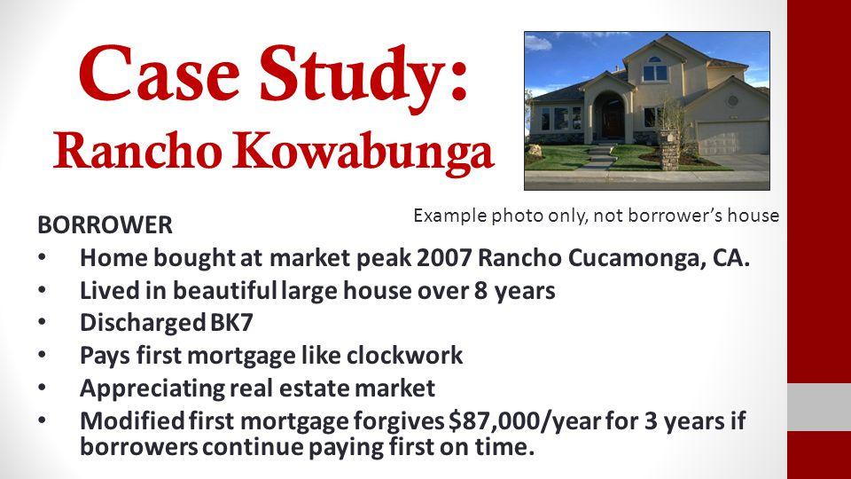 Case Study: Rancho Kowabunga
