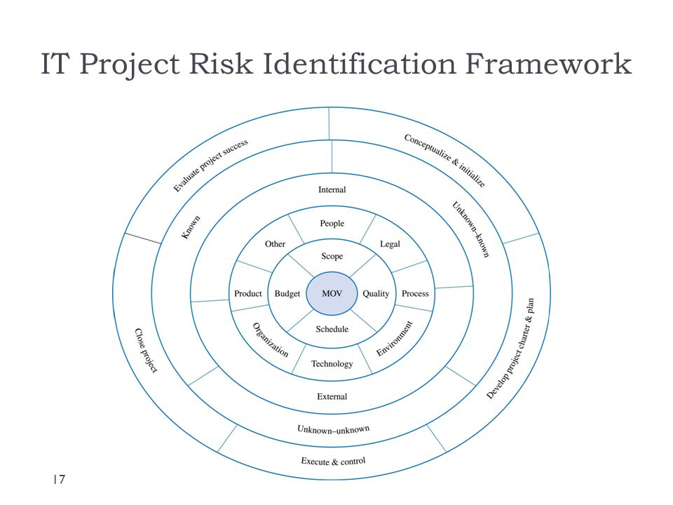 IT Project Risk Identification Framework