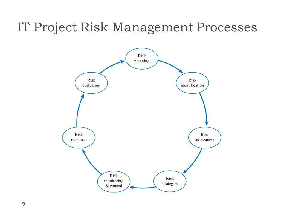 IT Project Risk Management Processes