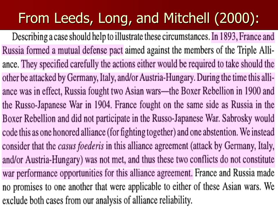 From Leeds, Long, and Mitchell (2000):