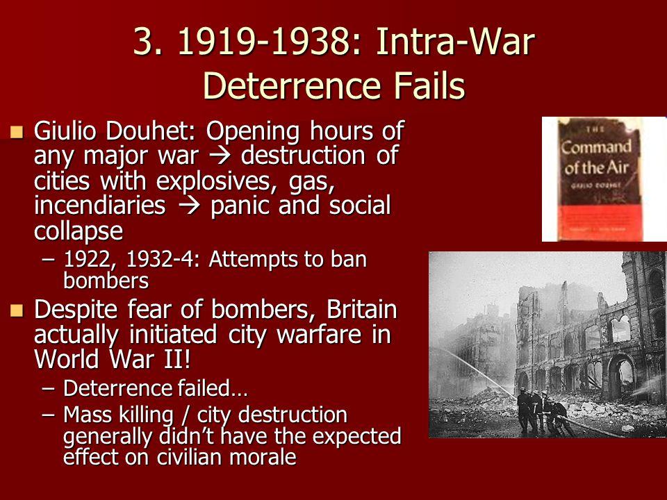 3. 1919-1938: Intra-War Deterrence Fails