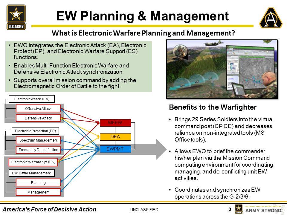 EW Planning & Management