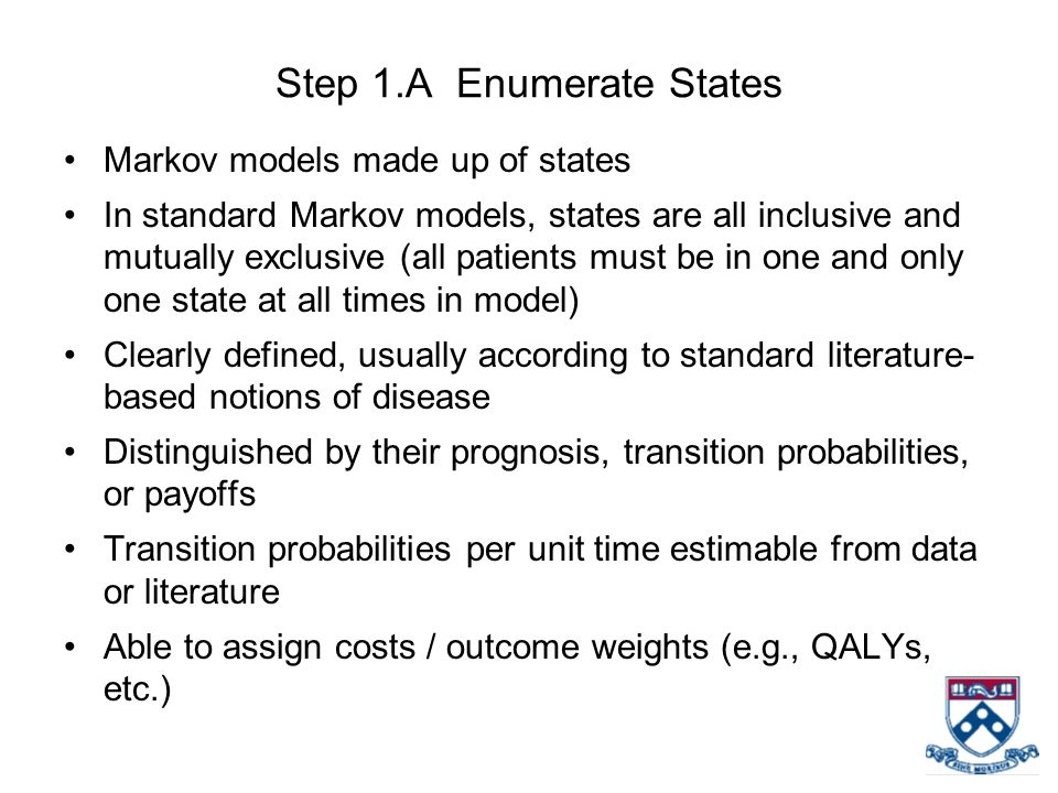 Step 1.A Enumerate States