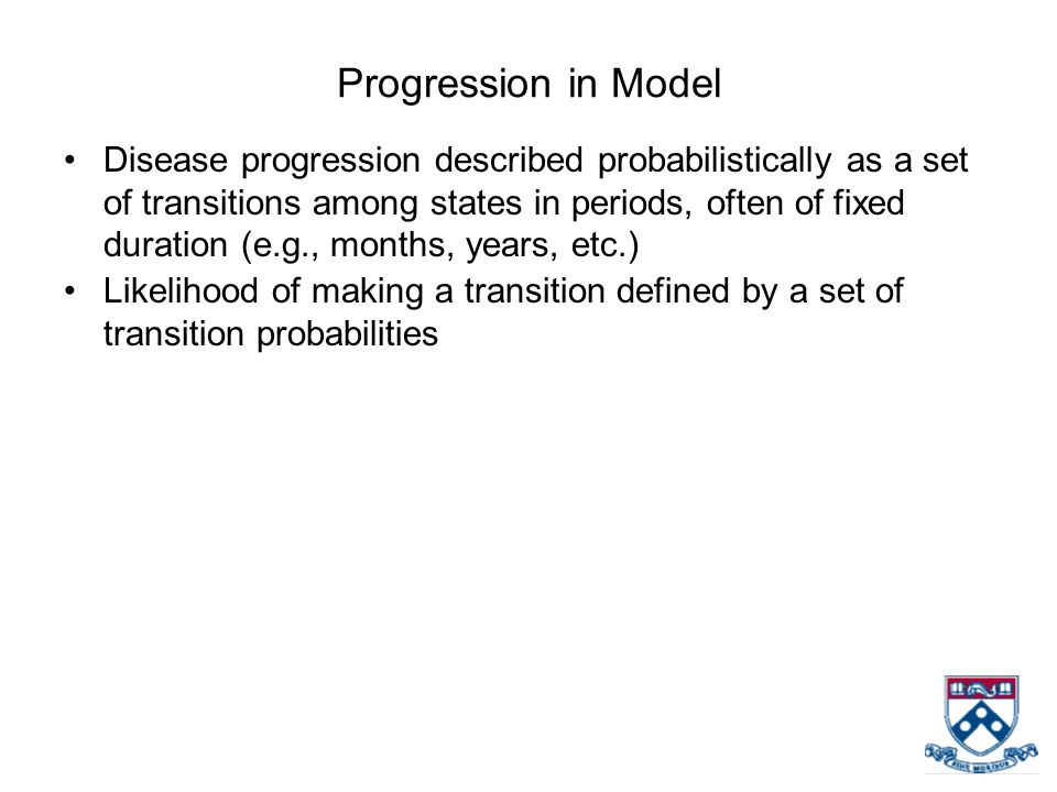 Progression in Model