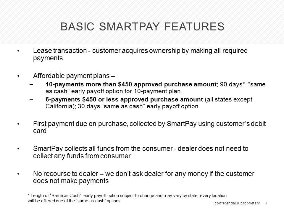 Payment Plan Comparisons