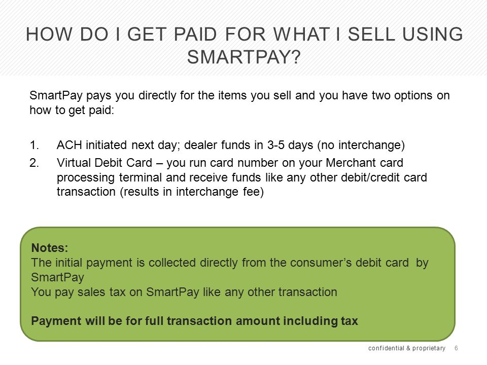Why should I offer SmartPay