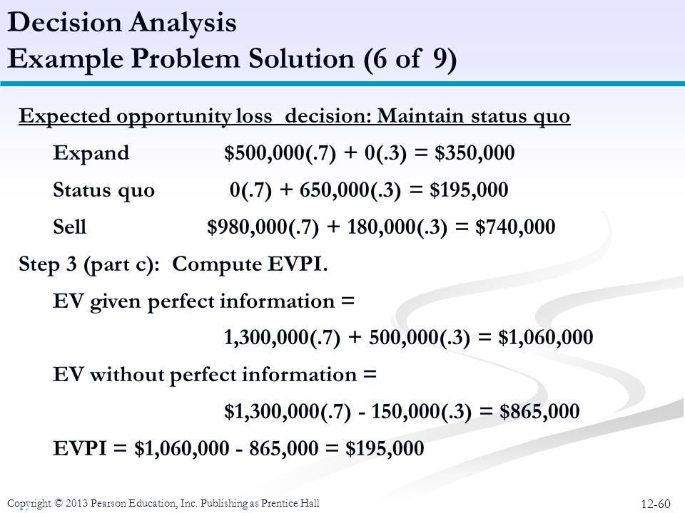 Example Problem Solution (6 of 9)
