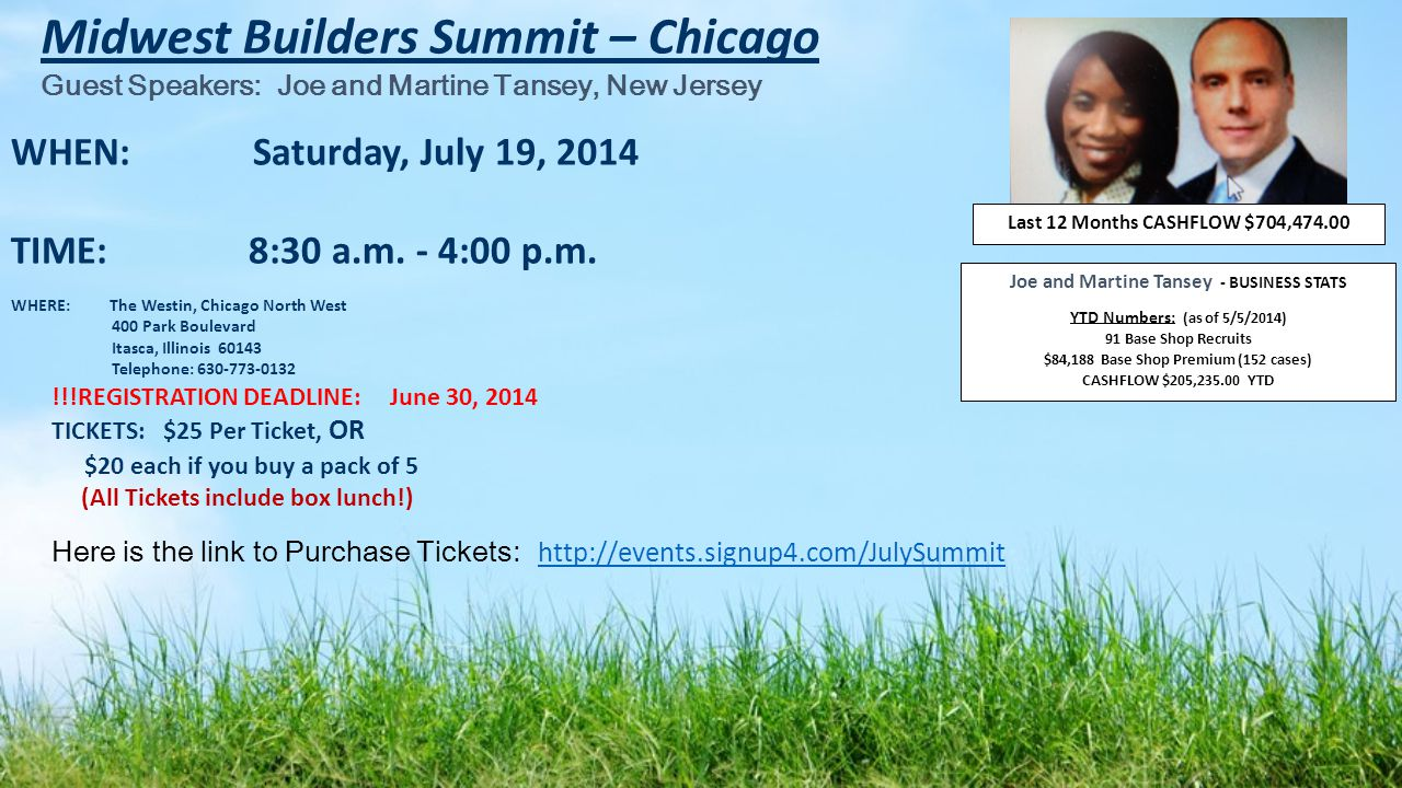 Midwest Builders Summit – Chicago