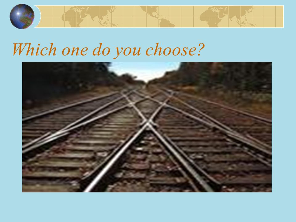 Which one do you choose
