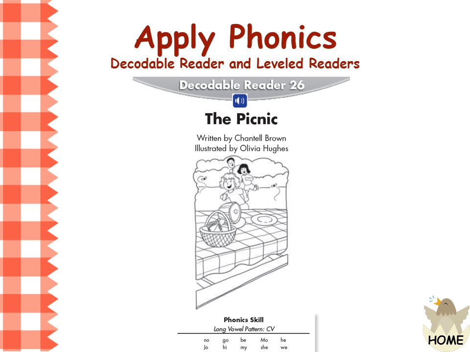 Decodable Reader and Leveled Readers