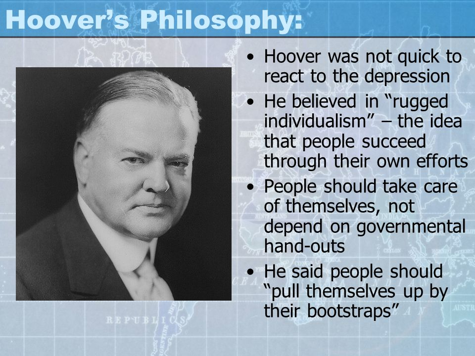 an evaluation of how roosevelt and hoover handled the america great depression