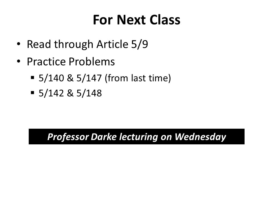 Professor Darke lecturing on Wednesday